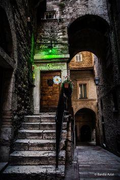 Perugia , Via Priori
