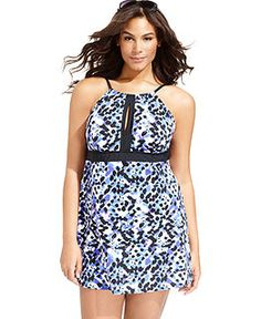 Plus Size Swimwear - Womens Plus Size Bathing & Swimsuits - Macy's
