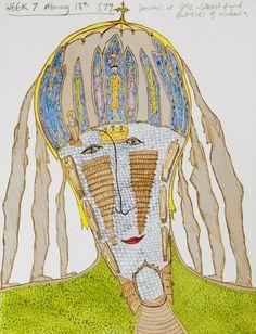 Drawing Mental Illness: Artist Bobby Baker's Visual Diary | Brain Pickings Brain Drawing, Understanding Depression, Art Brut, Personal Identity, Visual Diary, Naive Art, Outsider Art, Art Therapy, Mental Illness