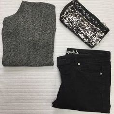 I just discovered this while shopping on Poshmark: Gray Top. Check it out! Price: $13 Size: M
