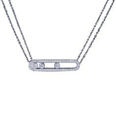 collier diamant epingle