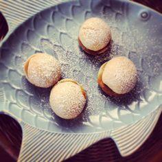 Cinnamon Semlor with Almond Cream & Brown Sugar Custard | bellandboard.com