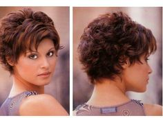 Very nice cut for my style and hair type. Very nice cut for my style and hair type. Curly Pixie Hairstyles, Short Layered Haircuts, Curly Hair Cuts, Curly Hair Styles, Short Hair With Layers, Short Hair Cuts For Women, Choppy Hair, Hair Highlights, Fine Hair