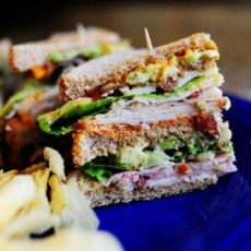 Killer Club Sandwich from pioneer woman **AP REVIEW: SO GOOD