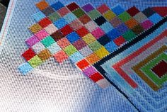 needlepoint - I haven't done this in ages - time to do it again