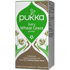 PUKKA Juicy Wheat Grass Powder 110 g