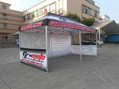 3x6M Pop Up Advertising Gazebo Tent for Moto Racing Events
