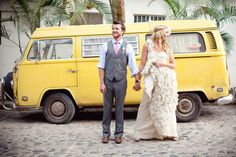 such a hipster wedding- i LOVE it