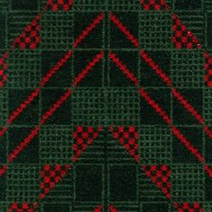 Chevron Moquette Pattern - Designed 1938 for London Underground.