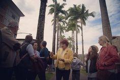 Hoje de manhã tive a sorte de fazer um passeio guiado com a enciclopédica Sueli Petry pelo Centro Histórico de Blumenau. Deve render um material bem legal pro finde no @santacombr #blumenau