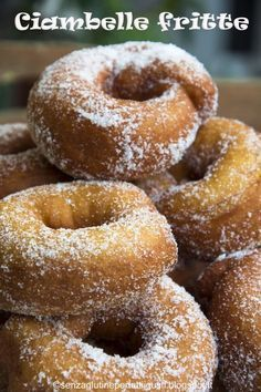 Senza glutine...per tutti i gusti!: Ciambelle fritte senza glutine