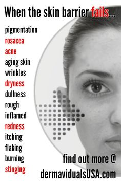 dermaviduals USA rebuilds the skin barrier to prevent acne, rosacea, aging, inflammation, and more