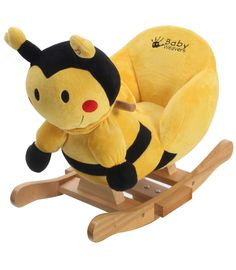 Buy your Bumble Bee Rocking Animal With Chair reviews from Kiddicare Half Price| Online baby shop | Nursery Equipment