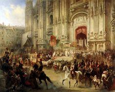 La grandiosa bienvenida a Suvorov en Milán. Más en www.elgrancapitan.org/foro