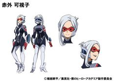 """""""My Hero Academia - Training of the Dead"""" OVA Promo Pits Heroes Against Zombies Character Model Sheet, Female Character Design, Character Concept, Character Reference, Concept Art, Hero Academia Characters, Manga Characters, Marvel Characters, Boku No Hero Academia"""