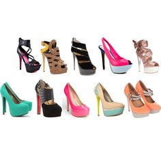 For the love of shoes!!, created by jessdeleon.polyvore.com