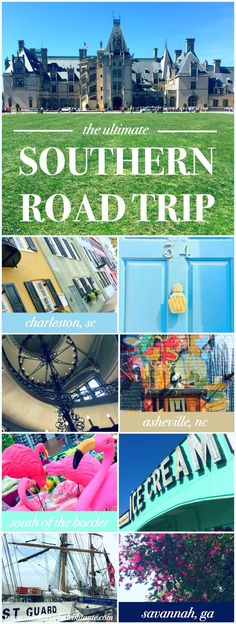A travel documentary of the ultimate southern road trip from Tampa to Charleston to Asheville to Hamer to Savannah by Diary of a Debutante