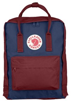 Royal Blue - Ox Red Backpack from Fjallraven