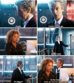 The Husbands of River Song - I loved how excited he was!