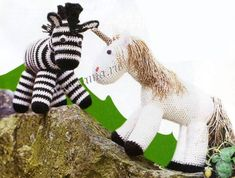 Единорог и зебра-ОПИСАНИЕ!