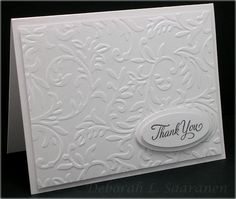 Dream in Color...: Ribbon Inspiration/Stamp Simply Style--White on White