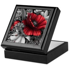 Poppy Power Keepsake Box