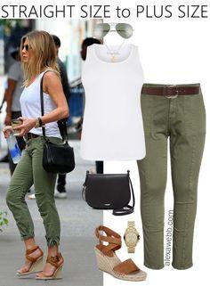Straight Size to Plus Size – Utility Pants - Plus Size Summer Outfit - Plus Size Fashion for Women - alexawebb.com #alexawebb #plussize