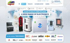 Fahad Electronics, a famous Pakistan based Electronics Store, deals in All Kind of Electronics Products. Dynamic ecommerce shopping store containing beautiful features, designed and developed by using Adobe, HTML5 / CSS, PHP 5, MySQL Database, Java Script, Jquery, XML