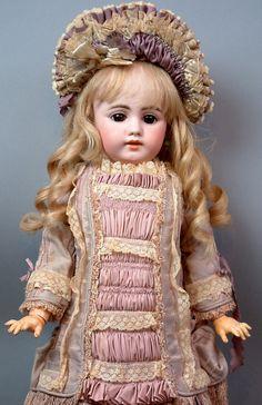 "Superb 27"" Simon & Halbig 1009 Antique German Child Doll PRECIOUS!"