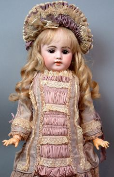 "Superb 27"" Simon & Halbig 1009 Antique German Child Doll PRECIOUS!"