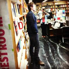 """James Franco arrives at Kepler's Books & Magazines in Menlo Park, CA to promote his new book, """"A California Childhood"""""""