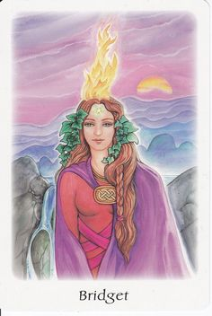 Brigid in The Oracle of the Goddess by Gayan Sylvie Winter&Jo Dosé