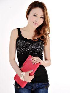 Zanzea® Female Lace Straps Tanks Tops