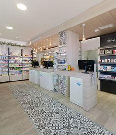 Farmacia Xunqueira - taller de farmacias. Diseño , proyectos y reformas de farmacias en Galicia, A Coruña, Pontevedra, Lugo, Orense.