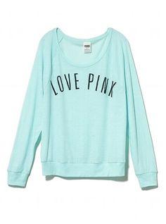 Victoria's Secret Sleep Tee found on Polyvore   Top Fashion ...
