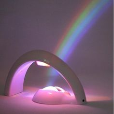 Wonderful rainbow projector produces a beautiful and vivid rainbow in any room. http://www.amazon.co.uk/gp/product/B00RFL9634