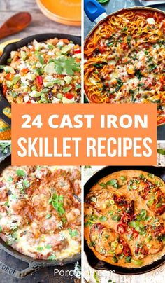 Cast Iron Skillet Cooking, Best Cast Iron Skillet, Iron Skillet Recipes, Cast Iron Recipes, Skillet Dinners, Dinner Dishes, Recipes Dinner, Main Dishes, Dessert Recipes