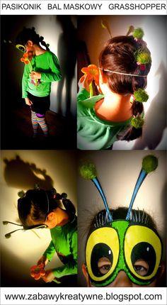 Zabawy kreatywne: Bal maskowy - pasikonik Cat Ears, In Ear Headphones, Over Ear Headphones, Catgirl