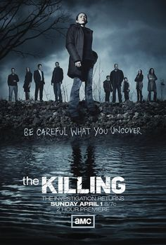 Poster for THE KILLING season 2