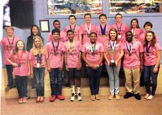 GDS Science Olympiad Team ranked #1 in the regional competition!