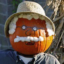 decorated pumpkins without carving | Pumpkin Ideas - Ideas for Decorating a Pumpkin