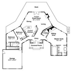 House Plan chp-20103 at COOLhouseplans.com