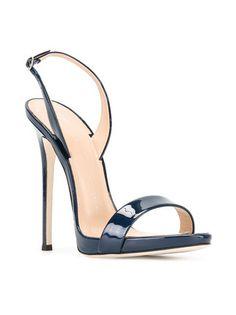 253678c79ed Giuseppe Zanotti Design Sophie sandals Navy Blue High Heels