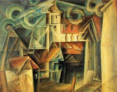 "Lyonel Feininger (1871-1956)   ""The Cathedral"", 1920"