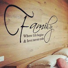 Family Love Wall Sticker