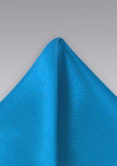 Einstecktuch Mikrofaser Blau