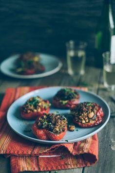 Quinoa Stuffed Peppers (Souvlaki For The Soul)