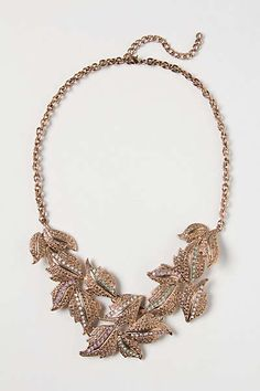 Anthropologie - Montparnasse Leaf Bib This would go with just about anything. <3