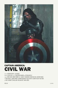 Captain America trilogy alternative movie posters - Visit to grab an amazing super hero shirt now on sale!
