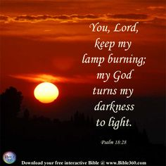 Keep Your Lamp Burning